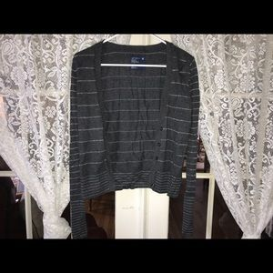 American Eagle gray with silver stripes (S)